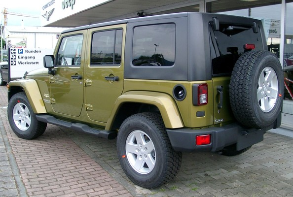 Jeep Wrangler Unlimited 200 CH UNLIMITED SAHARA Diesel