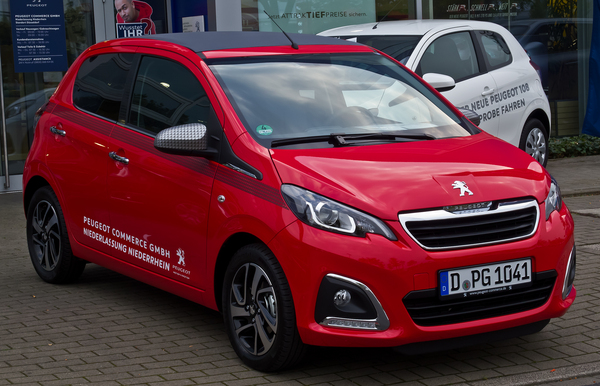 Peugeot 108 108 1.2 PURETECH 82CH BVM5 ACTIVE TOP! Essence