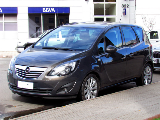 Opel Meriva MERIVA 1.4 TURBO - 120 CH TWINPORT EDITION GPL Essence